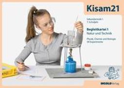 Cover-Bild zu Kisam21 - Experimentierkartei 1 - Begleitkarten von Hutzli, Hansjürg