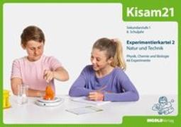 Cover-Bild zu Kisam21 - Experimentierkartei 2 - Schüler von Hutzli, Hansjürg