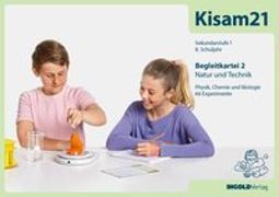 Cover-Bild zu Kisam21 - Experimentierkartei 2 - Begleitkarten von Hutzli, Hansjürg