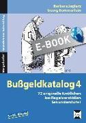 Cover-Bild zu Bußgeldkatalog 4 Kl. 5-10 (eBook) von Jaglarz, Barbara