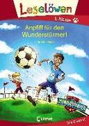 Cover-Bild zu Bandixen, Ocke: Leselöwen 1. Klasse - Anpfiff für den Wunderstürmer!
