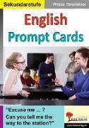 Cover-Bild zu English Prompt Cards von Thierfelder, Prisca