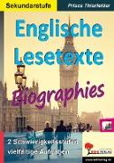 Cover-Bild zu Englische Lesetexte / Biographies (eBook) von Thierfelder, Prisca