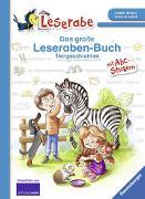 Cover-Bild zu Das große Leseraben-Buch: Tiergeschichten - Leserabe ab 1. Klasse - Erstlesebuch für Kinder ab 5 Jahren von Voigt, Silke (Illustr.)