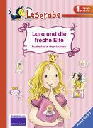 Cover-Bild zu Lara und die freche Elfe - Leserabe 1. Klasse - Erstlesebuch für Kinder ab 6 Jahren von Kiel, Anja