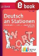 Cover-Bild zu Deutsch an Stationen 2 Inklusion (eBook) von Klügel, Timo