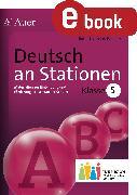 Cover-Bild zu Deutsch an Stationen 5 Inklusion (eBook) von Kurzius-Beuster, Babett