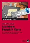 Cover-Bild zu Last Minute: Deutsch 9. Klasse (eBook) von Felten, Patricia
