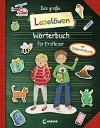 Cover-Bild zu Loewe Erstlesebücher (Hrsg.): Das große Leselöwen-Wörterbuch für Erstleser
