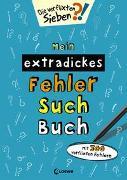 Cover-Bild zu Loewe Lernen und Rätseln (Hrsg.): Mein extradickes Fehler-Such-Buch (petrol)