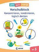 Cover-Bild zu Loewe Lernen und Rätseln (Hrsg.): Die neuen LernSpielZwerge - Konzentrieren, kombinieren, logisch denken