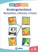 Cover-Bild zu Loewe Lernen und Rätseln (Hrsg.): Die neuen LernSpielZwerge - Beobachten, erkennen, erfassen