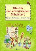 Cover-Bild zu Loewe Lernen und Rätseln (Hrsg.): Alles für den erfolgreichen Schulstart - Zahlen Buchstaben Konzentration