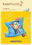 Cover-Bild zu Lesefreunde, Lesen - Schreiben - Spielen, Östliche Bundesländer und Berlin - Neubearbeitung 2015, 2. Schuljahr, Arbeitsheft von Gutzmann, Marion