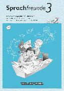 Cover-Bild zu Sprachfreunde, Sprechen - Schreiben - Spielen, Ausgabe Nord/Süd - Neubearbeitung 2015, 3. Schuljahr, Handreichungen für den Unterricht mit CD-ROM von Förster, Katharina