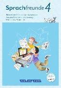 Cover-Bild zu Sprachfreunde, Sprechen - Schreiben - Spielen, Ausgabe Nord (Berlin, Brandenburg, Mecklenburg-Vorpommern) - Neubearbeitung 2015, 4. Schuljahr, Arbeitsheft, Schulausgangsschrift von Junghänel, Katrin