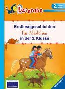 Cover-Bild zu Erstlesegeschichten für Mädchen in der 2. Klasse - Leserabe 2. Klasse - Erstlesebuch für Kinder ab 7 Jahren von Ondracek, Claudia