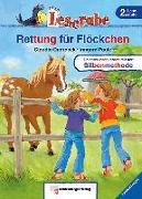 Cover-Bild zu Leserabe - Rettung für Flöckchen von Ondracek, Claudia
