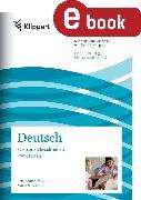 Cover-Bild zu Personen beschreiben - Wortarten (eBook) von Heindl, Herta (Hrsg.)