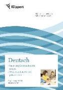 Cover-Bild zu Sach- und Gebrauchstexte - Texte visualisieren von Heindl, Herta