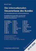 Cover-Bild zu Die internationalen Steuererlasse des Bundes 2019/2020 von Gygax, Daniel R.