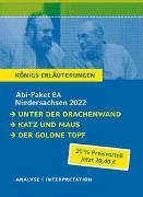 Cover-Bild zu Abitur Deutsch Niedersachsen 2022 EA - Königs Erläuterungen-Paket von Grass, Günter