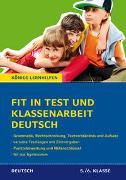 Cover-Bild zu Fit in Test und Klassenarbeit - Deutsch 5./6. Klasse Gymnasium von Süß, Peter