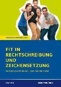 Cover-Bild zu Fit in Rechtschreibung und Zeichensetzung für die Oberstufe (SEK II) von Schaefer, Suzanne