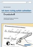 Cover-Bild zu Ich kann richtig schön schreiben - Grundschrift von Langhans, Katrin