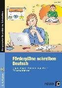 Cover-Bild zu Förderpläne schreiben: Deutsch von Keil, Marion