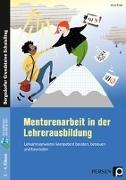 Cover-Bild zu Mentorenarbeit in der Lehrerausbildung von Frieß, Anne