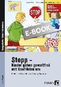 Cover-Bild zu Stopp - Kinder gehen gewaltfrei mit Konflikten um (eBook) von Hoffmann