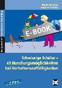 Cover-Bild zu Schwierige Schüler - Grundschule (eBook) von Hartke, Bodo
