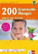 Cover-Bild zu Lassert, Ursula: Klett 200 Grammatik-Übungen wie in der Schule (eBook)