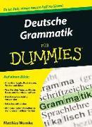 Cover-Bild zu Wermke, Matthias: Deutsche Grammatik für Dummies
