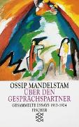 Cover-Bild zu Mandelstam, Ossip: Über den Gesprächspartner