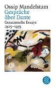 Cover-Bild zu Mandelstam, Ossip: Gespräch über Dante