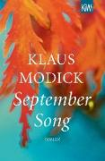 Cover-Bild zu Modick, Klaus: September Song (eBook)