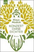 Cover-Bild zu Modick, Klaus: Konzert ohne Dichter (eBook)