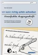 Cover-Bild zu Ich kann richtig schön schreiben - Vereinfachte Ausgangsschrift VA von Langhans, Katrin