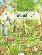 Cover-Bild zu Henkel, Christine (Illustr.): Mein erstes Wimmelbuch: Im Wald