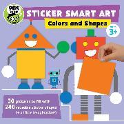 Cover-Bild zu Sticker Smart Art: Colors and Shapes von PBS KIDS (Geschaffen)