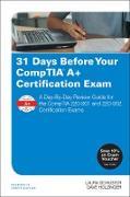 Cover-Bild zu Schuster, Laura: 31 Days Before Your CompTIA A+ Certification Exam (eBook)