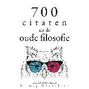Cover-Bild zu 700 citaten uit de oude filosofie (Audio Download) von Aurelius, Marcus