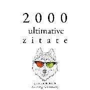 Cover-Bild zu 2000 ultimative Zitate (Audio Download) von Austen, Jane