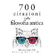 Cover-Bild zu 700 citazioni dalla filosofia antica (Audio Download) von Aurelius, Marcus