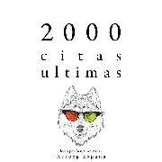 Cover-Bild zu 2000 citas ultimas (Audio Download) von Austen, Jane