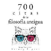 Cover-Bild zu 700 citas de la vieja filosofía (Audio Download) von Aurelius, Marcus