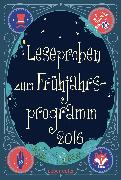 Cover-Bild zu Schumacher, Jens: Ueberreuter Lesebuch Kinder- und Jugendbuch Frühjahr 2016 (eBook)