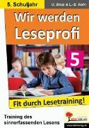Cover-Bild zu Wir werden Leseprofi 5 (eBook) von Stolz, Ulrike